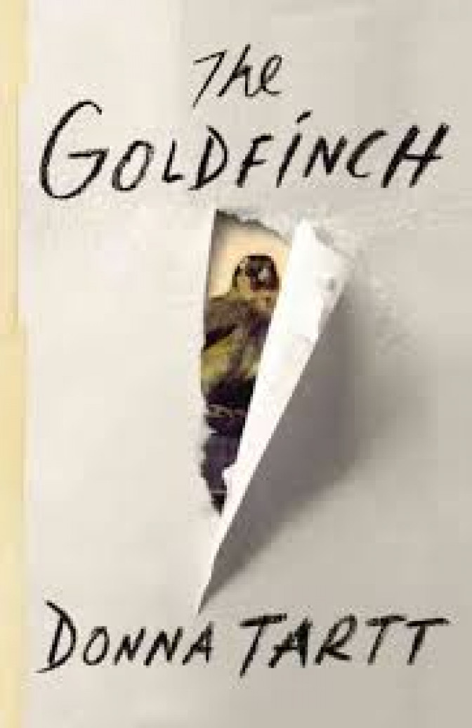 """The Goldfinch"" Donna Tartt"