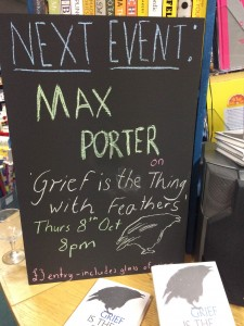 MAx Porter Blackboard